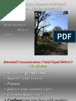Interatrial Communications Asd