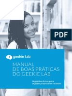 Manual de Boas Práticas de Educação do Geekie Lab