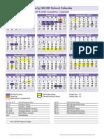 2019 2020 approved academic calendar