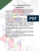 Estudio e Importancia de La Proteómica