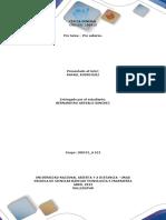 Ejercicios y Formato Pre Tarea Presentacion de Ejercicios