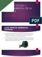 Impacto Social y Medioambiental de La Robotica