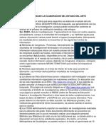 PASOS PARA INICIAR LA ELABORACION DEL ESTADO DEL ARTE.pdf