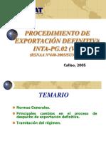 Exportacion Definitiva