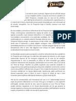 Resumen de ambientación ERDD