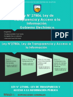 Ley de transparencia y accespa la información pública - Gobierno Electrónico.pptx