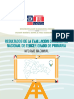 Vfus Informe Nacional de La Evaluacion Diagnostica de Tercer Grado PDF