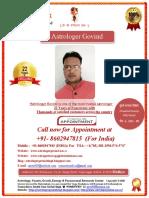 Astrologer Govind - Best Astrologer in Indore India