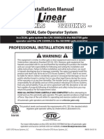 GTO Gate Opener Gate Operator Manual Prosw3200XLS