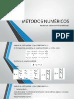 MÉTODOS NUMÉRICOS_U3
