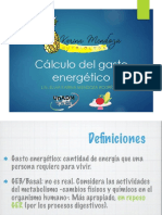 Calculo Del Gasto Energetico
