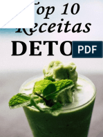Suco detox de 3 dias para desinchar a barriga