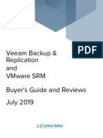 VMware SRM vs. Veeam Backup Replication Report From IT Central Station 2019-07-04