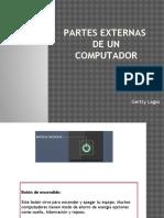 Partes Externas de Un Computador