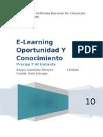 E Learning oportunidad Y Conocimineto