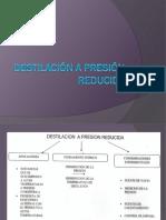 Destilación a PR