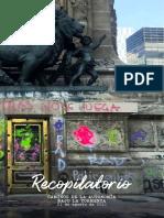 """Recopilatorio de noticias Agosto """"Caminos de la Autonomía Bajo la Tormenta"""""""