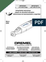 Manual Dremel Micro 8050