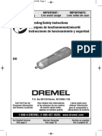 Manual Destornillador Dremel GO