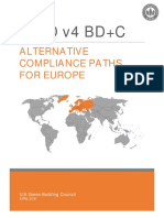 LEED v4 BD C Supplement for Europe 4-3-18 0
