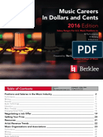 Music Careers in Dollars and Cents 2016-Berklee
