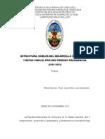 Ensayo Desarrollo Nacional