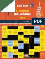 Calendario - Programación General - Fite 2019