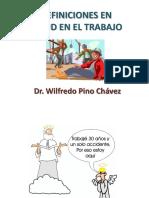 2. Definiciones en Salud en El Trabajo