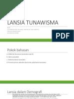 12 Hr Lansia Tunawisma