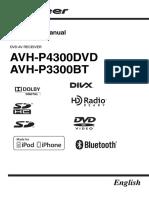 AVH P4300DVD