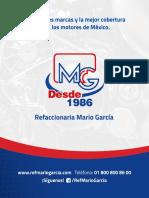 Catalogo Completo Refaccionaria Mario Garcia