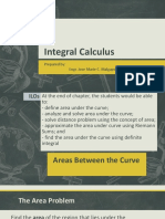 Calculus II Areas Under the Curve