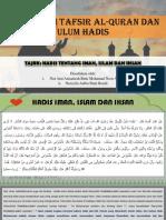 Iman, Islam Dan Ehsan