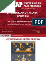 Semana 01 La Automatización Industrial