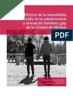 efectos de la homofobia