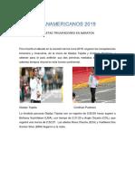 Atletas Triunfadores en Lima 2019