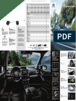 Subaru Forester Ficha tecnica