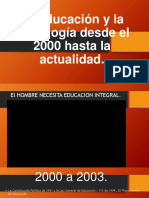 Educacion 2000 a 2017