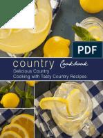 Country Cookbook_ Delicious Cou - BookSumo Press