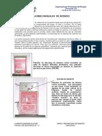 25 alarmas manuales de incendio