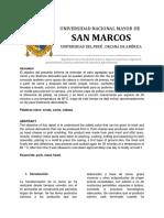 Informe de Elaboración de Chicharrón de Prensa