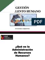 Sesión I. Funciones de la Gestión del Talento Humano.pptx
