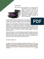 Concepto de Impresora