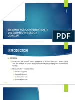 Chapter 3 Elements for Design Concept