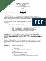 chemistry 1 hn syllabus f-19