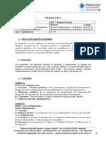 Derecho Administrativo y Tributario -