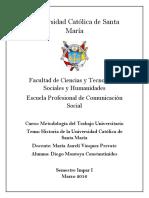 Historia de La Universidad Catolica