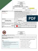 Plan de Clase Organización de Datos