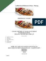 Proposal Usaha Membuat Makanan Khas.docx