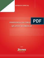 FISIOLOGIA DA CRIANÇA QUANTO ÀS DROGAS